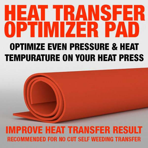 FOREVER DARK NO CUT PAPER TRANSFER OPTIMIZER PAD FOR IMPROVING HEAT TRANSFER PRINTING, A PAD WOW PAD T PAD